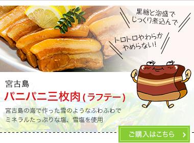 宮古島 パニパニ三枚肉(ラフテー)